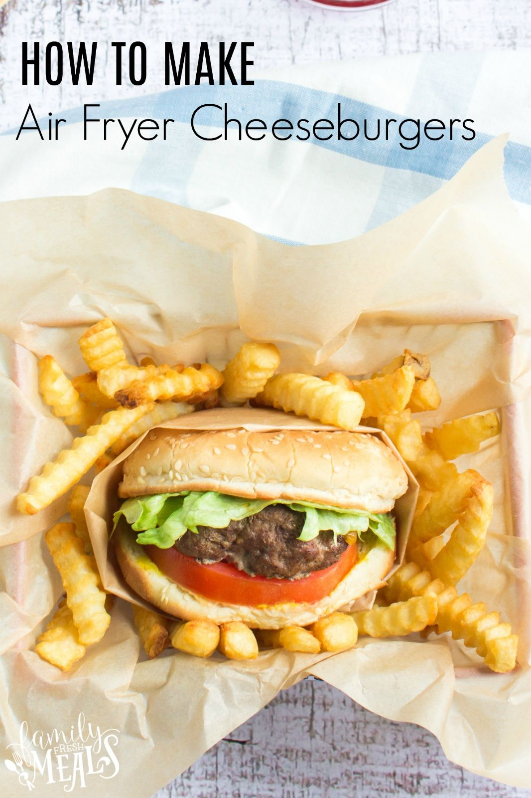 Air Fryer Cheeseburgers in 2020 Air fryer recipes
