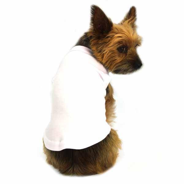 Plain Dog Shirt White Pet Clothes Dog Shirt Dogs