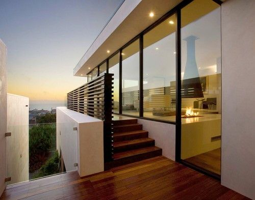 Contemporary Modern Home contemporary home design in manhattan beach - three-story home