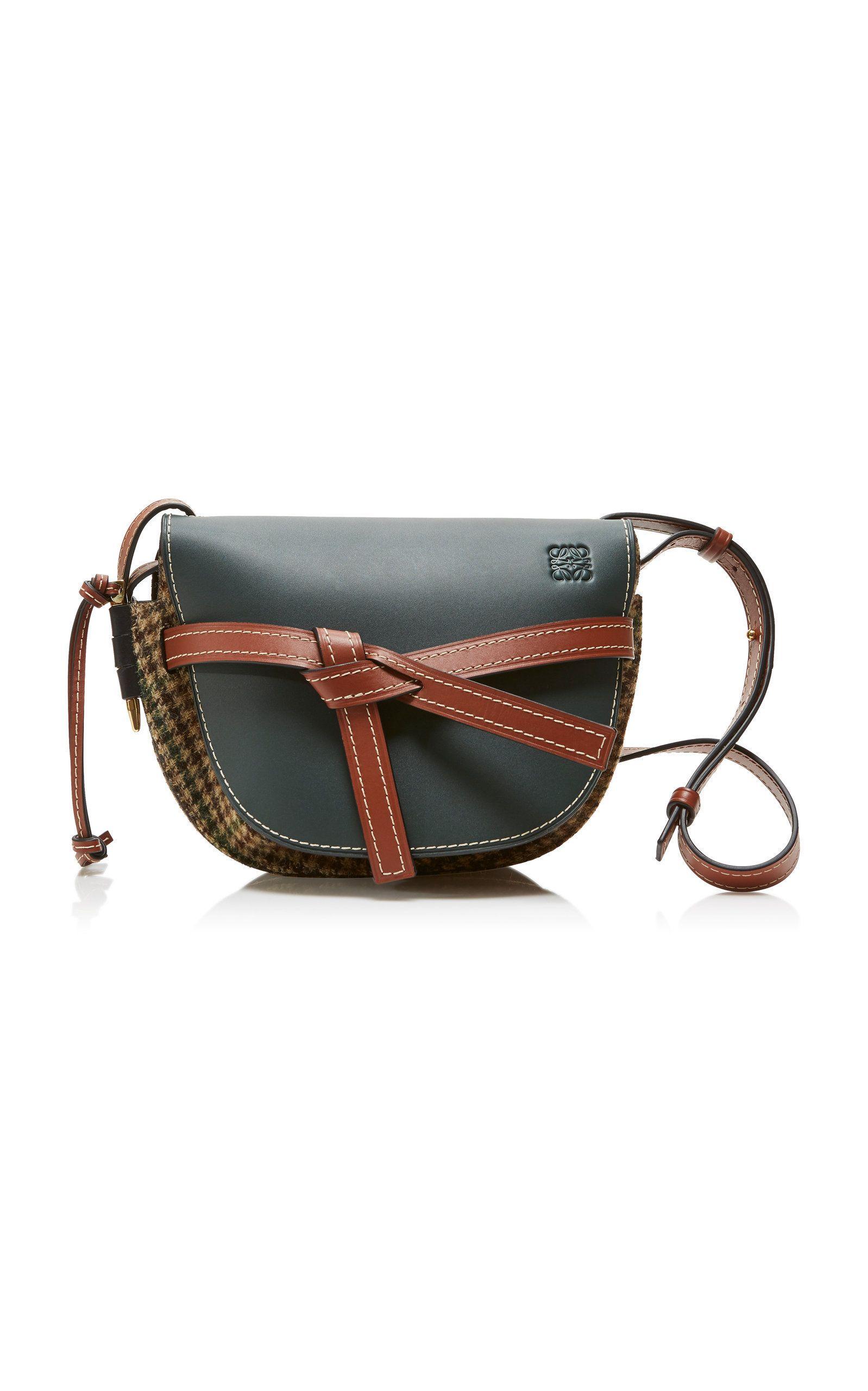ad0e9c4dddc2 Loewe Gate Tweed Small Bag  1