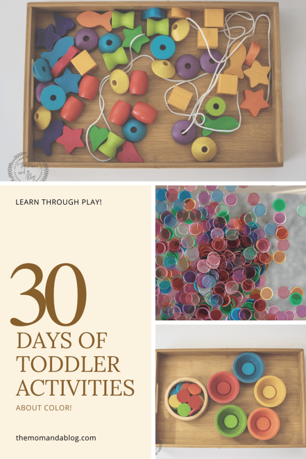 Photo of 30 Days of Activities Inspired by Colors {For Toddlers}