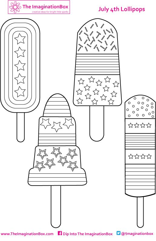 Picture Summer holidays Pinterest Summer crafts, Art - new 4th of july coloring pages preschool