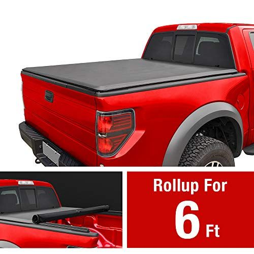 Maxmate Roll Up Truck Bed Tonneau Cover Works With 2005 2019 Nissan Frontier 2009 2014 Suzuki Equator Tonneau Cover Truck Tonneau Covers Truck Bed