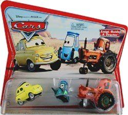 DISNEY PIXAR CARS LUIGI GUIDO /& TRACTOR MOVIE MOMENTS SUPERCHARGED