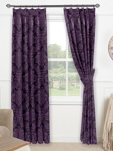 Florence Royal Purple Curtains From Curtains 2go