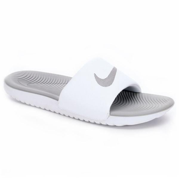 30f9e2ada Nike Womens Kawa Slide - White