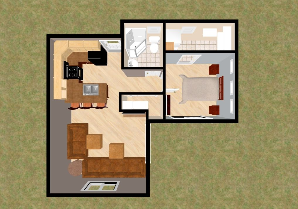 300 Sq Ft House Plan House Interior
