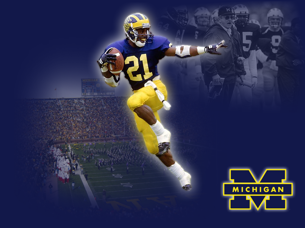 Free Michigan Wolverines iPhone iPod Touch Wallpapers 1024