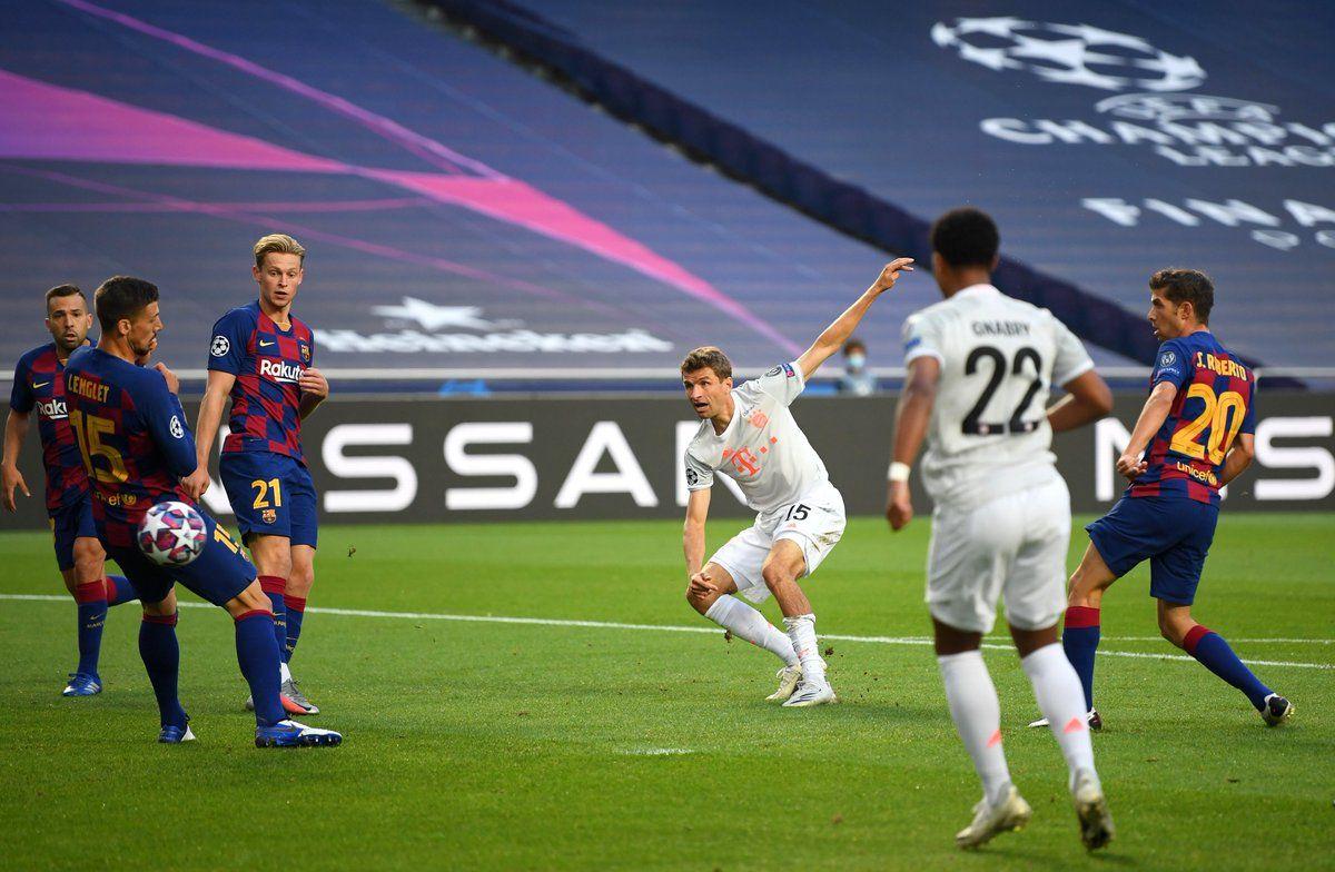 Bavariya Unizila Barselonu Gde L Messi Barselona Bavariya 2 8