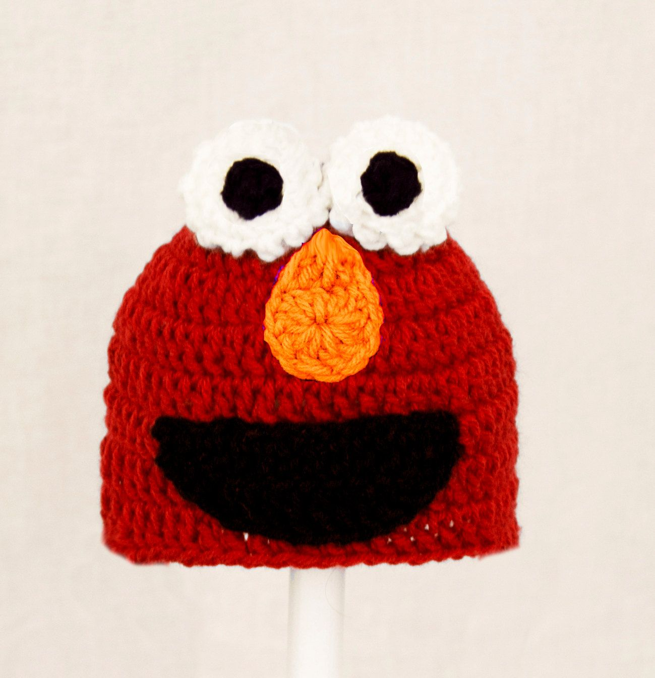 Elmo monster hat from sesame street red crochet beanie send size elmo monster hat from sesame street red crochet beanie send size choice baby bankloansurffo Gallery