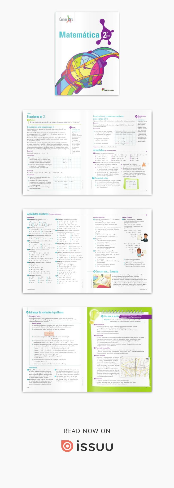 Matemática 2do Año Conexos Matematicas Pdf Libros Descargar Libros Pdf