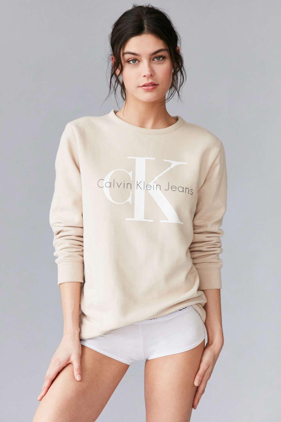 Calvin Klein Sweatshirt Calvin Klein Sweatshirts Calvin Klein Outfits Clothes