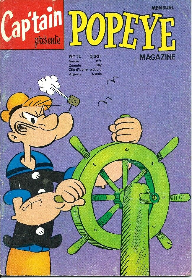 Popeye (Cap'tain présente) Magazine -12- Des épinards au pôle sud