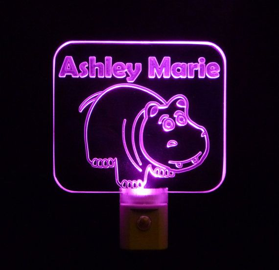 Hey, I found this really awesome Etsy listing at https://www.etsy.com/listing/171278254/kids-personalized-hippo-night-light