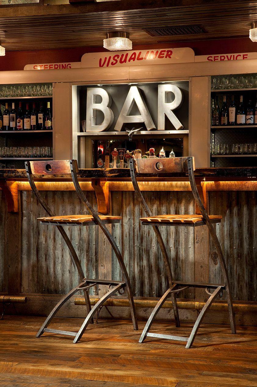 Vinoture Wine Barrel Furniture Tables Stools Coatracks
