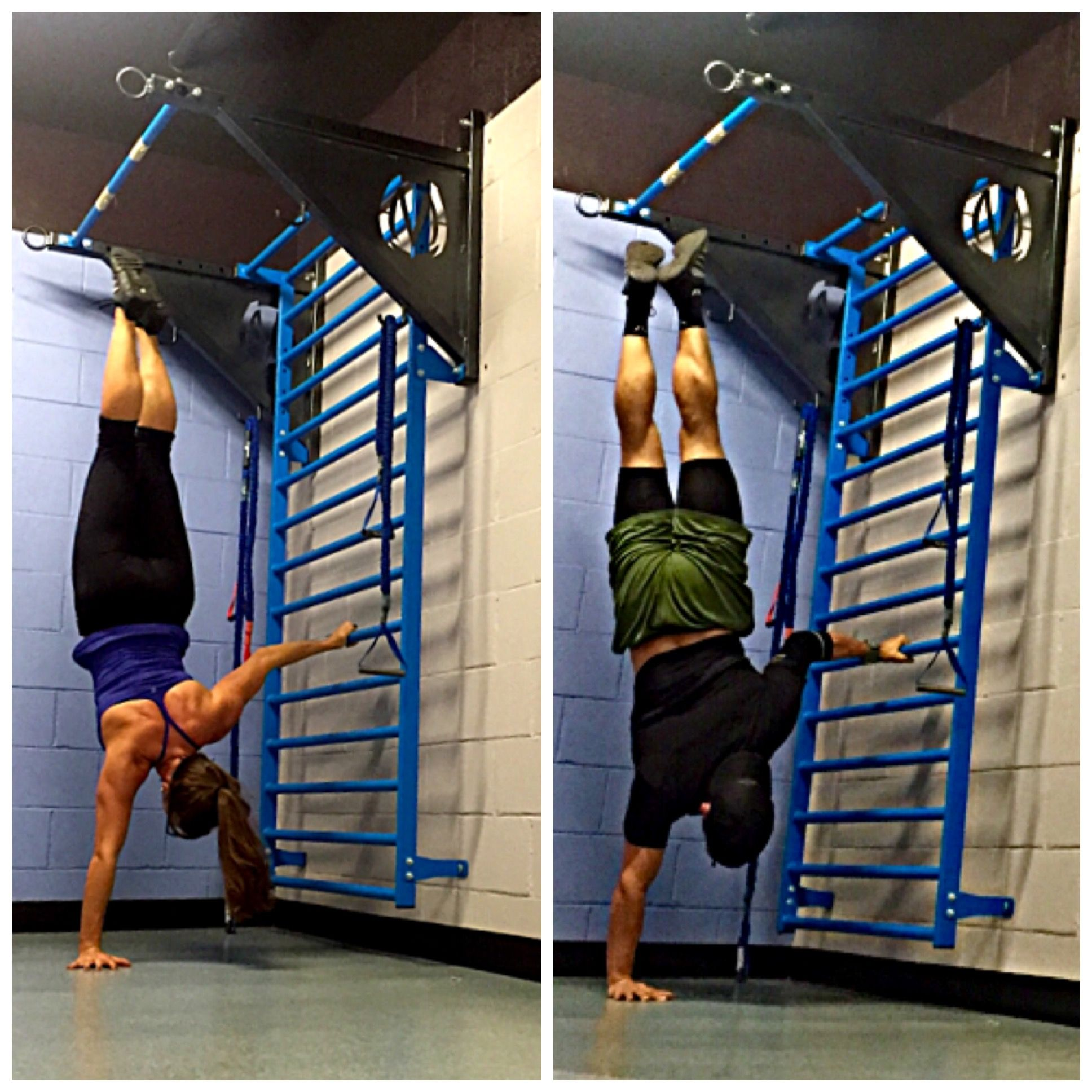 One Arm Handstand Training Using The Movestrong Stall Bars