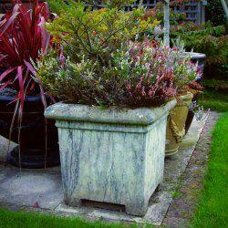 Lovely Grand Stone Garden Planter