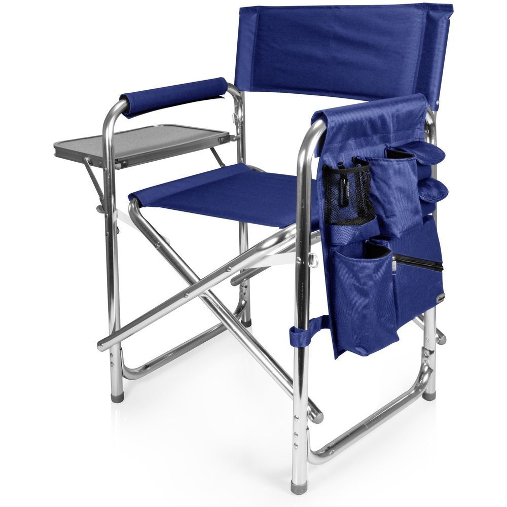 Excellent Portable Beach Chair Sporting Goods Camping And Hiking Blue Inzonedesignstudio Interior Chair Design Inzonedesignstudiocom