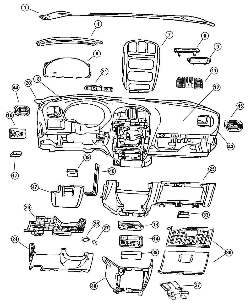 2000 Chrysler 300m Repair Manual Wiring Diagram And Fuse Box