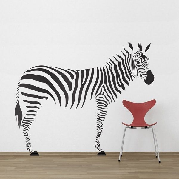 Amazing Zebra   Wall Decal