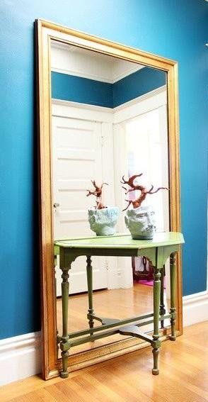 Large Gold Floor Mirror - Flooring Ideas and Inspiration