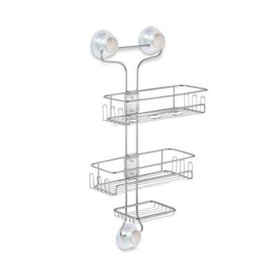 Buy Interdesign Turn N Lock 3 Tier Suction Corner Basket From Bed