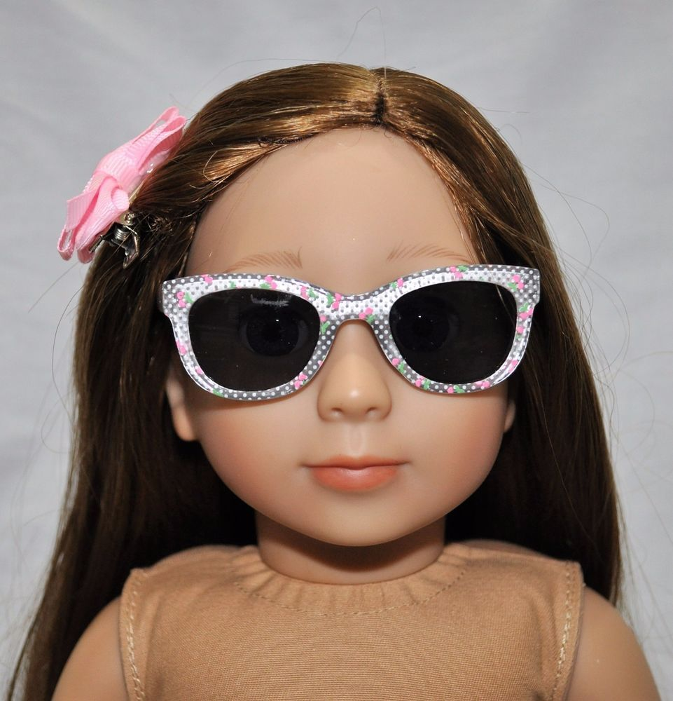 Doll Clothes glasses Accessories For 18/'/' American Girl Our Generation Doll