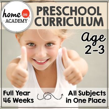 Preschool Totschool Age 2-3 for a complete year! Money ...