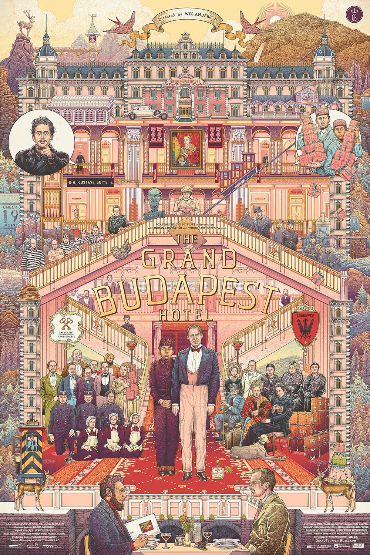 The Grand Budapest Hotel 2014 Alternative Movie Poster In 2021 Grand Budapest Hotel Grand Budapest Hotel Poster Movie Art