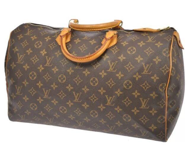 Louis Vuitton Monogram Jumbo Sdy 40 Handbag Lv Lock Key Included Louisvuitton