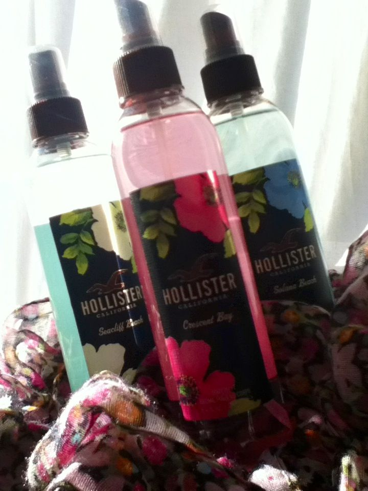 Holister Body Sprays Yummay With Images Hollister Spray