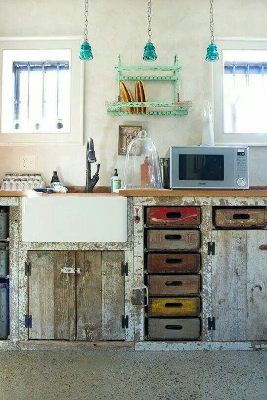 cuisine bild von roula chouvarda palettenschrank küche selber bauen küche selber bauen ytong on outdoor kitchen ytong id=88881