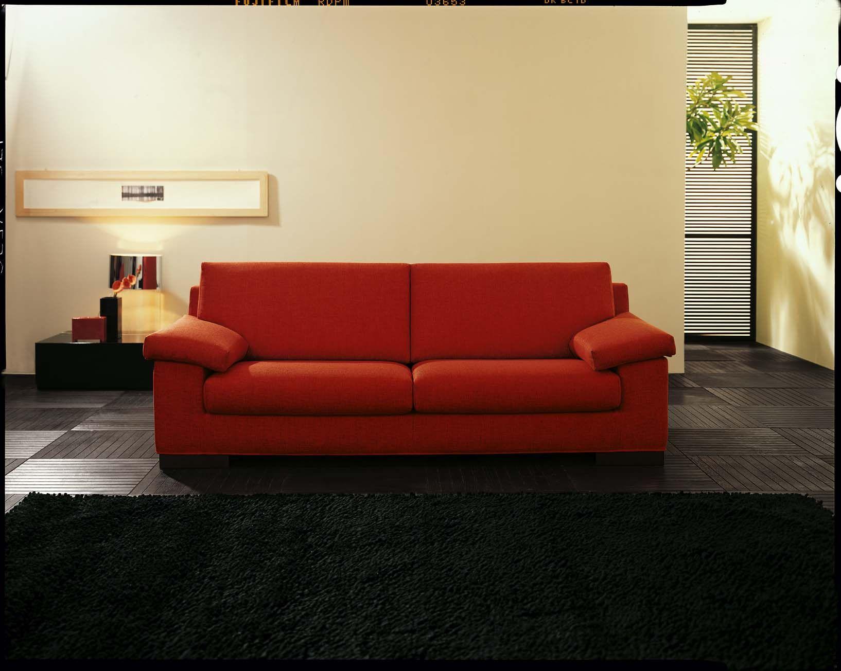 Divano Rosso Pelle : Il divano project comfort by samoa red rosso divani furniture