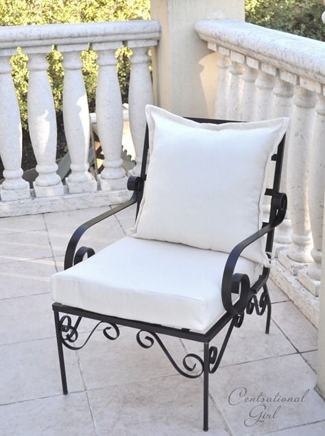 Painted Outdoor Furniture, Best Spray Paint For Metal Outdoor Furniture Uk