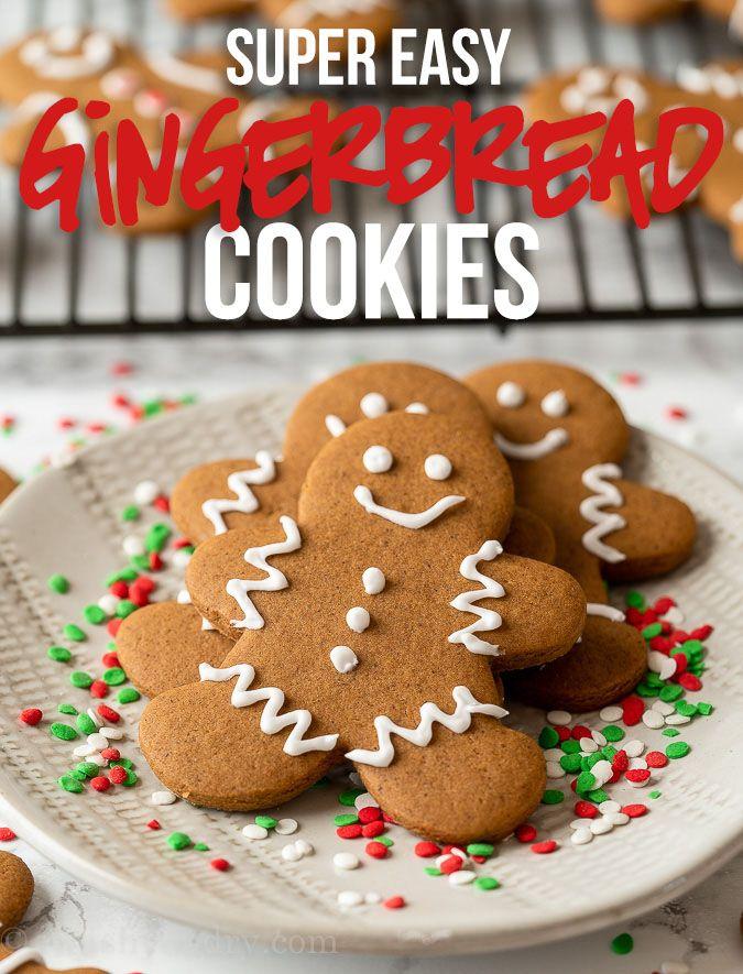 Perfect Gingerbread Cookies Recipe! #gingerbreadcookies