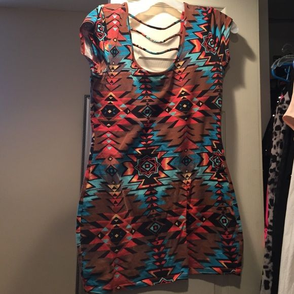 Aztec dress Stretchy Dots Dresses Mini