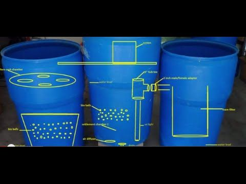 filter kolam koi 3 chamber - kolama