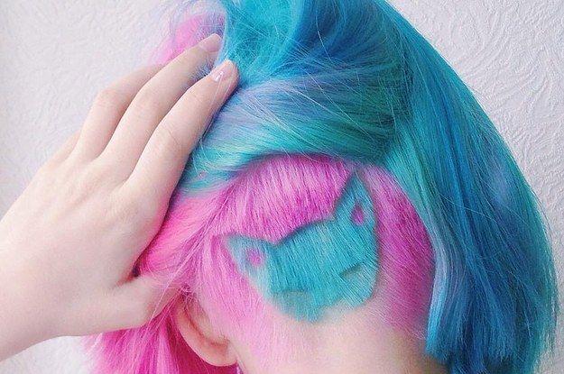 16 undercuts coloridos que farão você se sentir entediada com seu corte atual