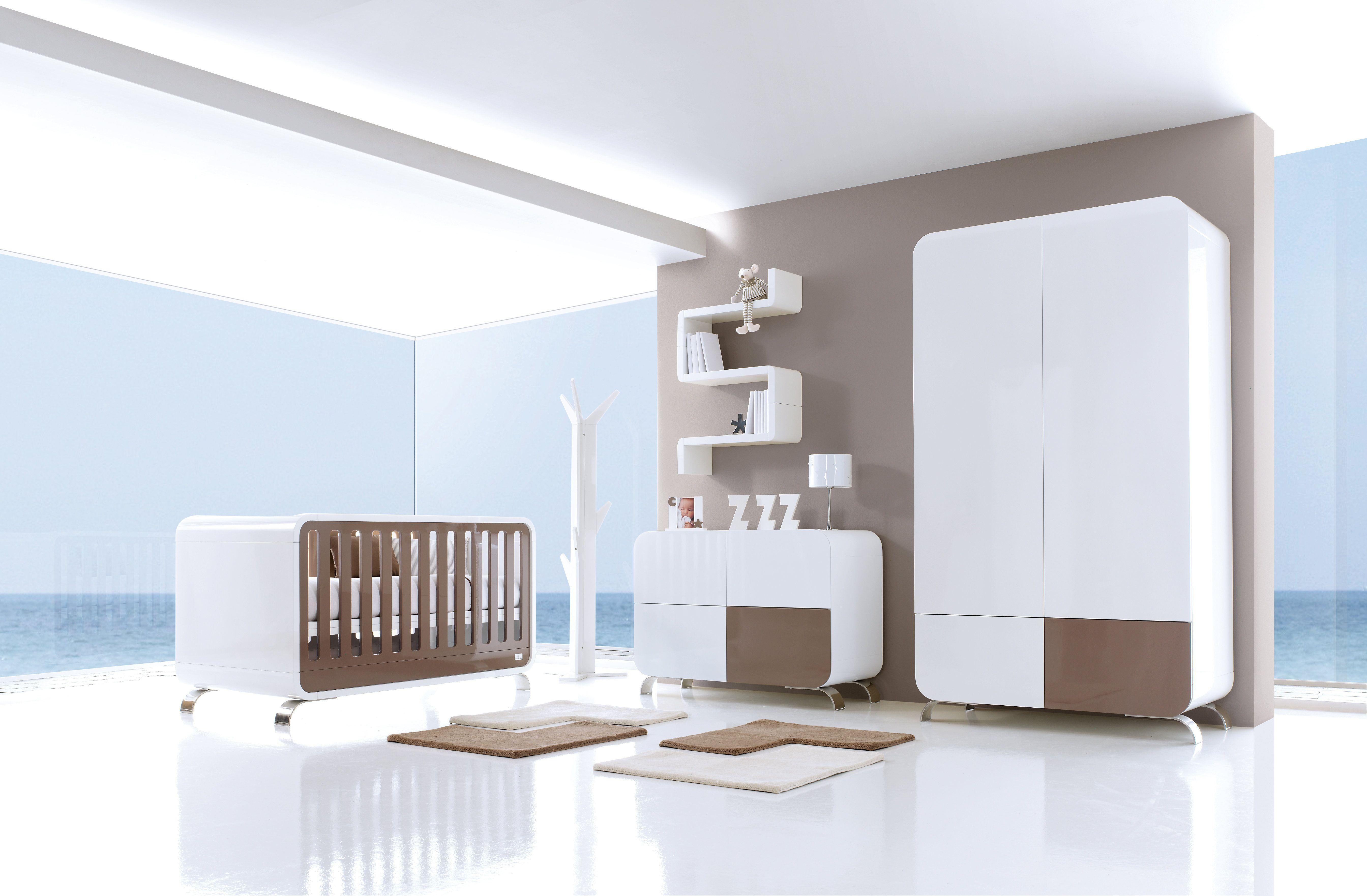 Habitaciones infantiles para beb s modernas y de dise o for Habitaciones infantiles modernas