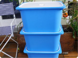 A Wormery Made Of Ikea Trofast Storage Boxes They Are Cheap Non