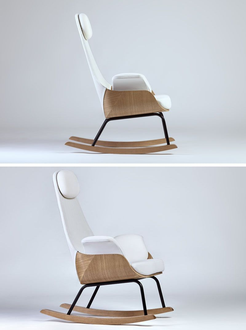 cheap modern rocking chair desk pad furniture ideas 14 awesome designs for your the tall back on this gives it lots of support and makes great in a