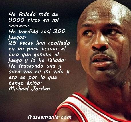 Michael Jordan El Fracaso Como Camino Para Lograr El éxito