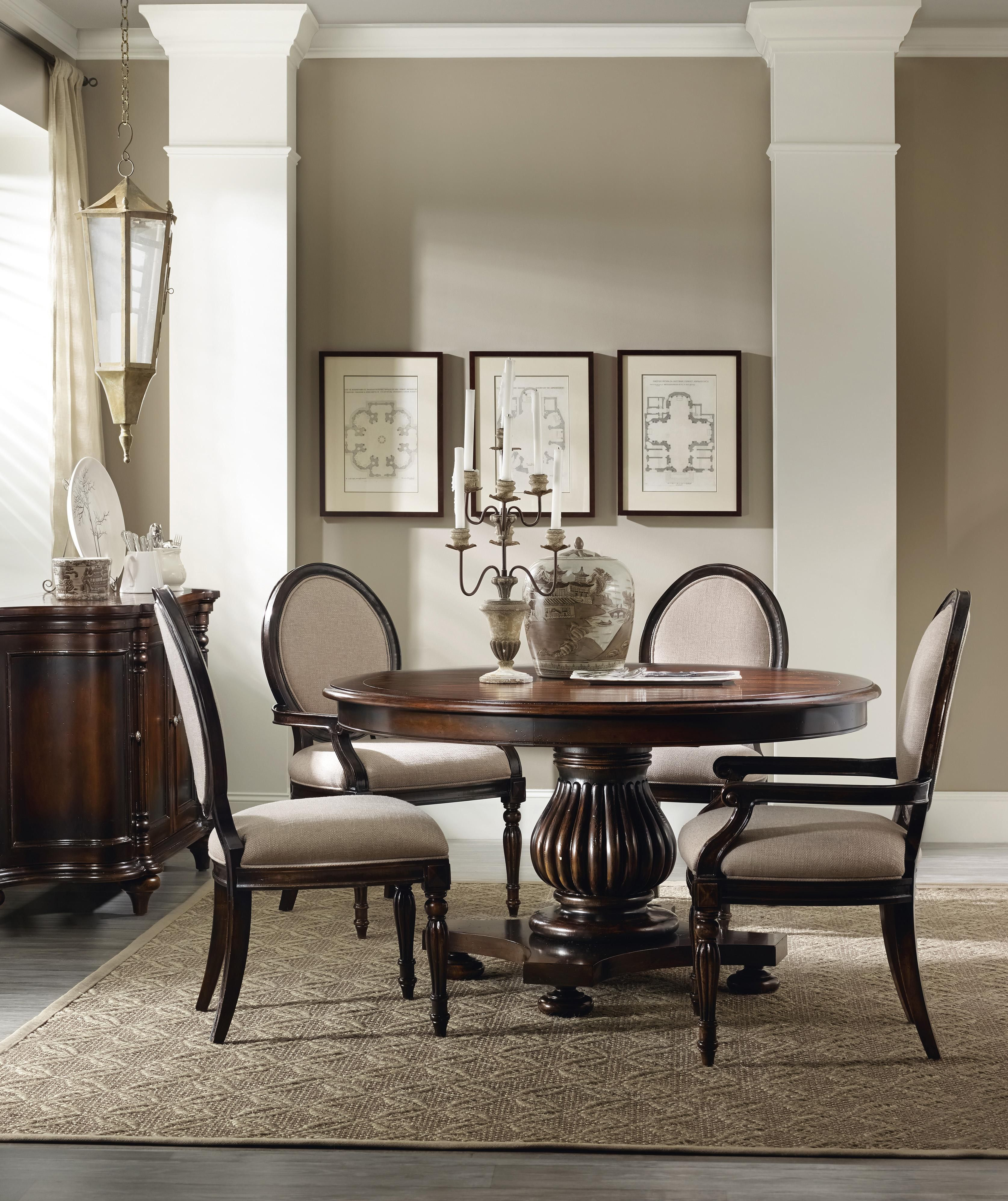 Eastridge Round Table Dining Room Group By Hooker Furniture