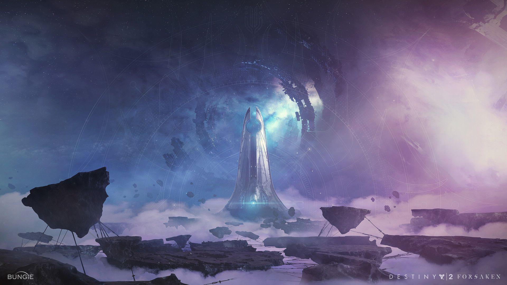 Artstation Destiny 2 Forsaken Tertiary Key Art Joseph Biwald