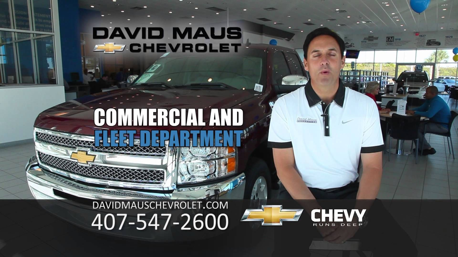 David Maus Chevy >> If You Own A Business David Maus Chevrolet Has A Commercial