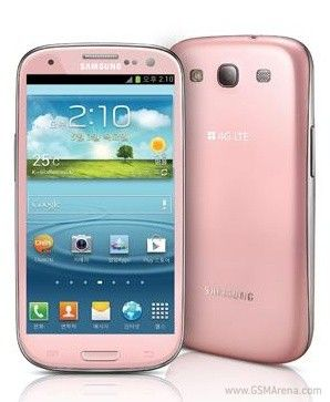 Pink Galaxy S3 Unveiled For South Korea – Targets Women and Men Confident In Their Masculinity