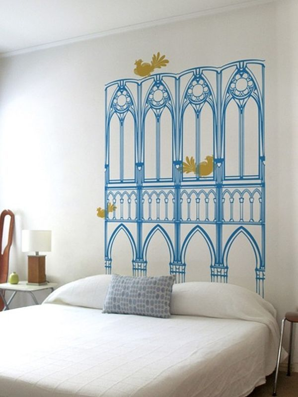 Inexpensive Headboard Ideas Part - 16: 100 Inexpensive And Insanely Smart DIY Headboard Ideas For Your Bedroom  Design Homesthetics (52)