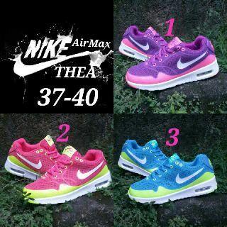 Spesifikasi Nike Air Max Thea Women Sz 37 40 Harga Idr 270k