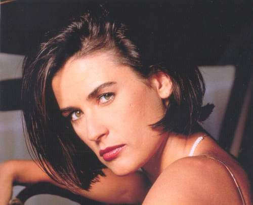 Demi Moore Indecent Proposal Haircut Demi Moore Oversized Shirt