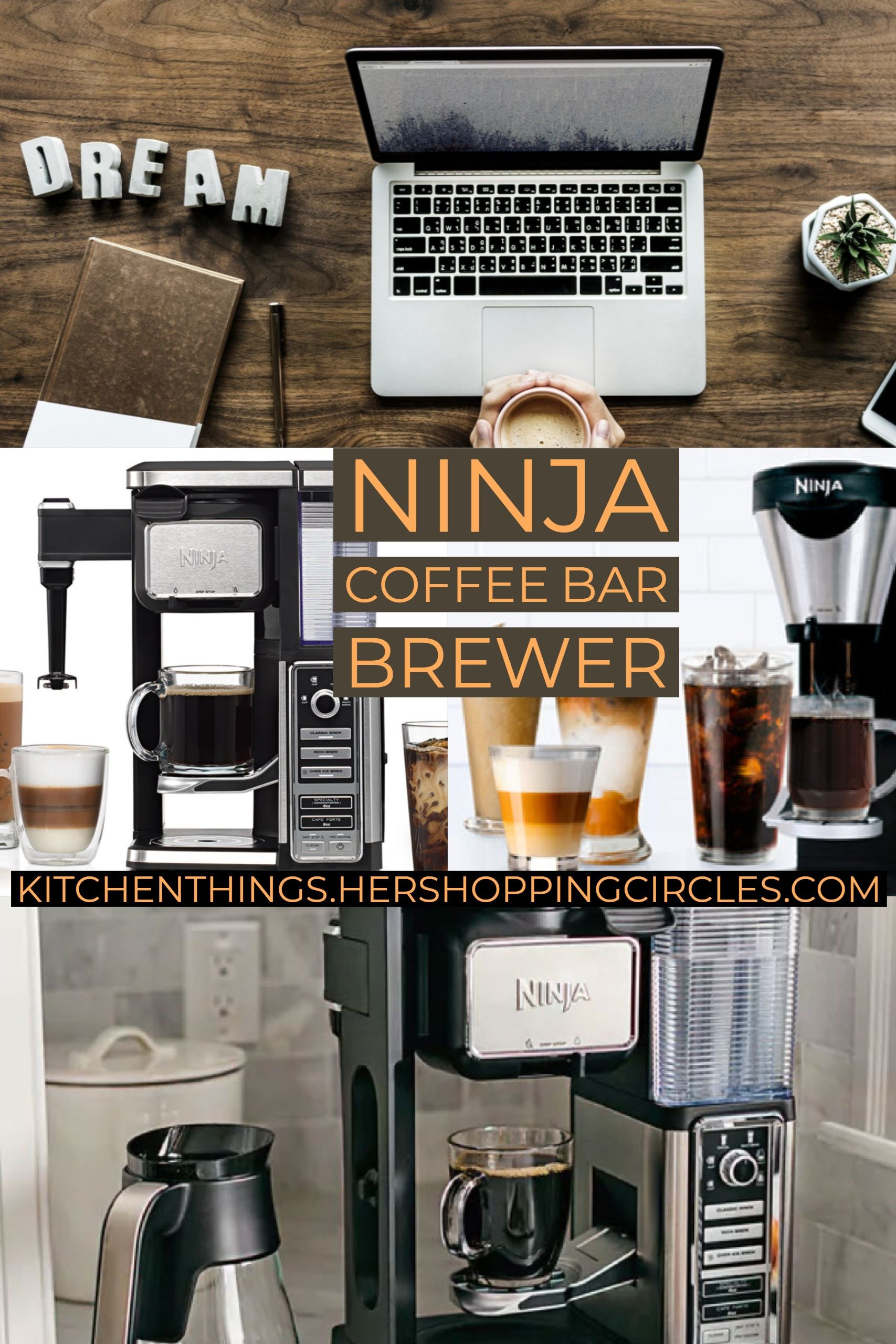 Ninja Coffee Bar Brewer with Thermal Carafe See Reviews